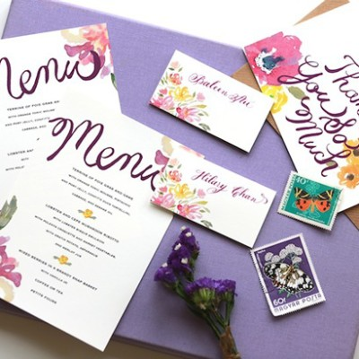 Wedding Invitations by Kalo Make Art