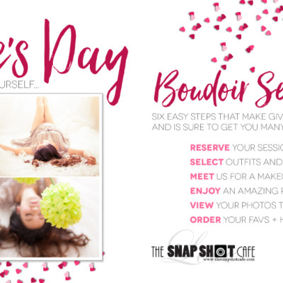 Valentine's Day Boudoir Sessions
